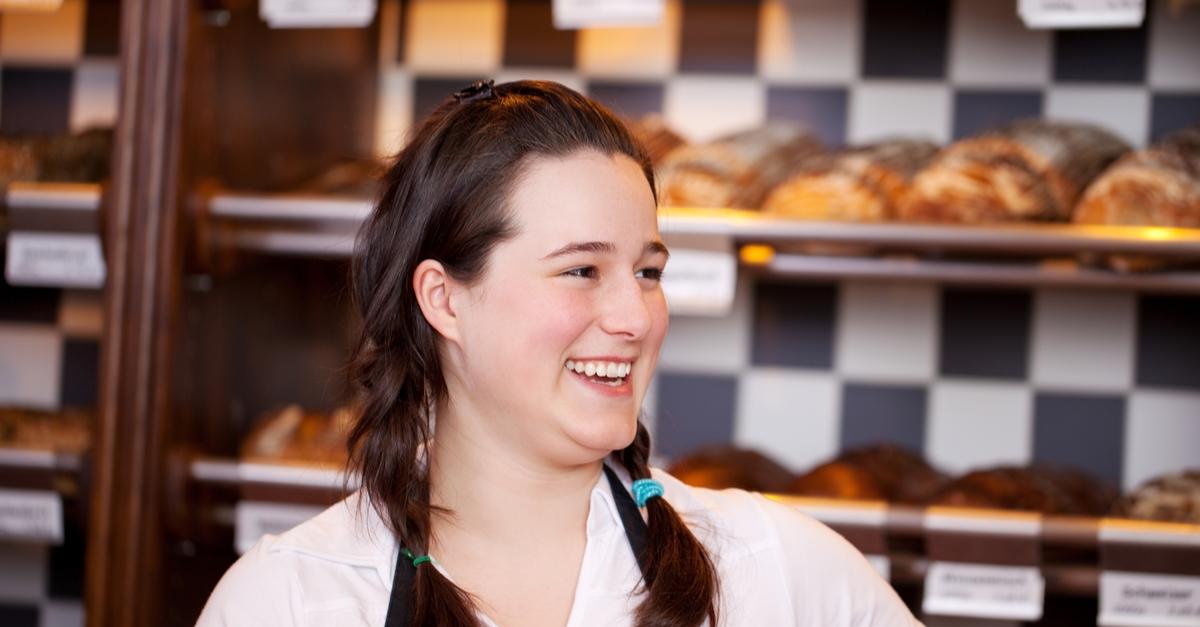 Praktikum - Englisch in Irland - Work Experince in a Bakery - Viele Kunde treffen
