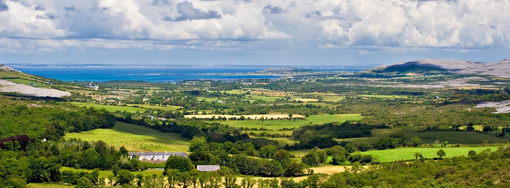 Englisch in Irland - Grafschaft Clare - Landschaft - Natur - Abwechlungsreich