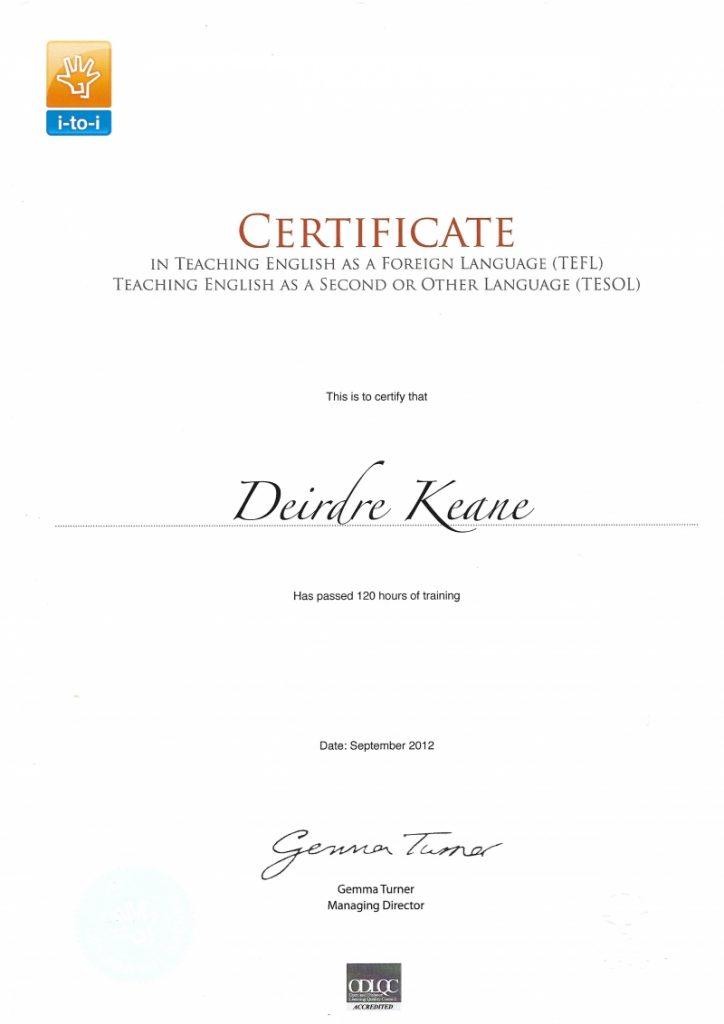 TEFL_TESOL_Certificate_DKeane_2012-800x1132