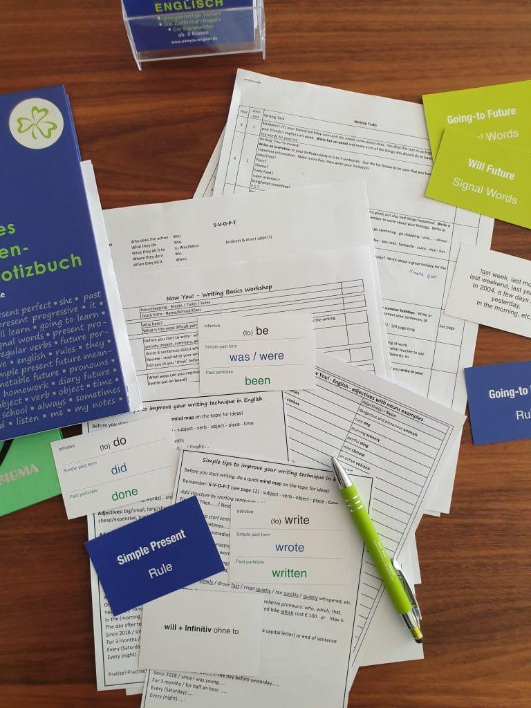 English Writing Basics Aufbau-Workshop