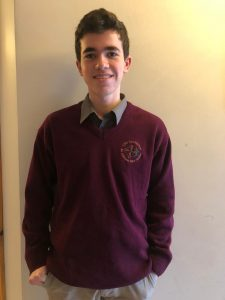 Samuel - High-School-Year Irland März 2021
